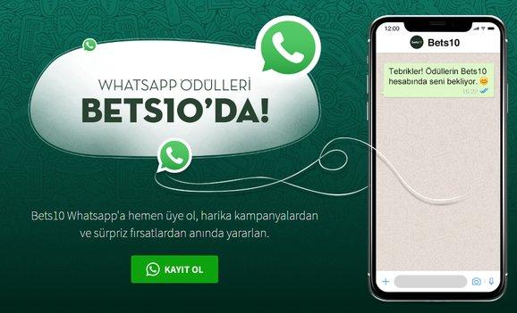 Bets10 Whatsapp Bonusu